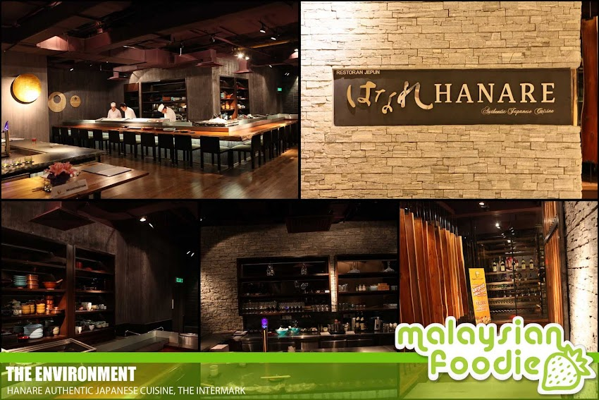 HANARE AUTHENTIC JAPANESE CUISINE RESTAURANT, THE INTERMARK (INVITED REVIEW)