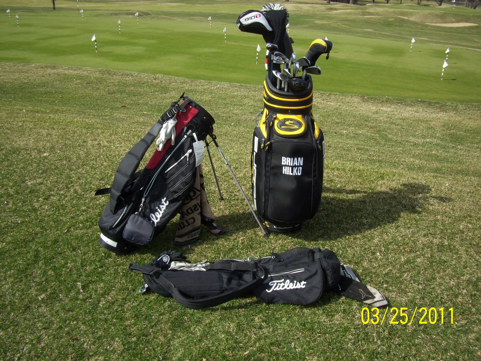 To Be Honest This Might The First Time I Have Used My Staff Bag In Almost 2 Years It Honestly Just Collects Dust With Old Clubs Love Though