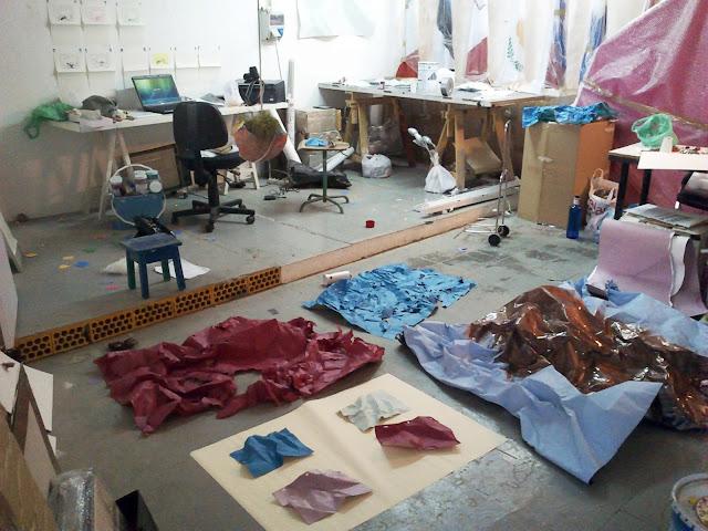 el estudio de Ignacio chavarri que participo en open studio 2013