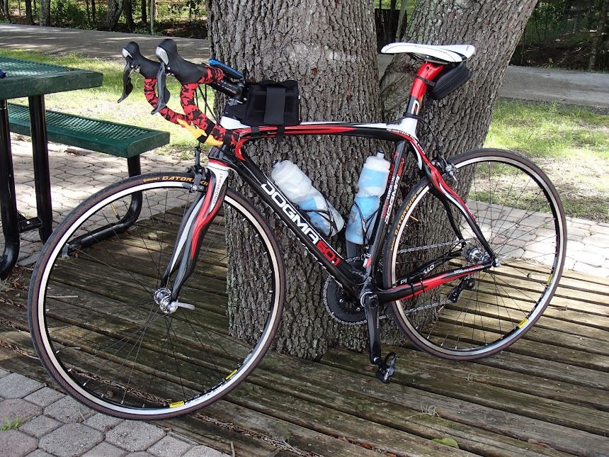 Pinarello on test ride