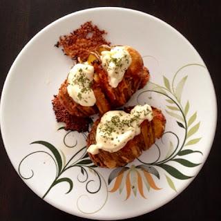 Cheesy baked potato by SheaSonia