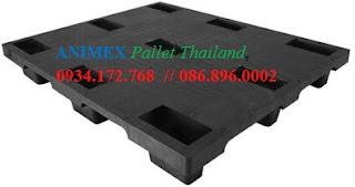 Pallet nhựa hàng nhẹ lưu kho NMS 1012 NR