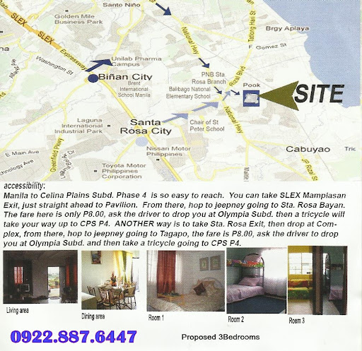 Rent to Own Houses in Sta Rosa Laguna Celina Plains Phase3 near SM