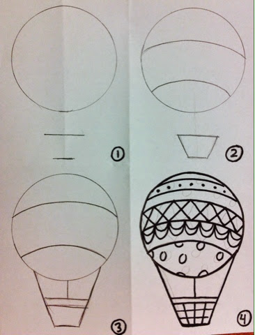 how to draw a realistic balloon