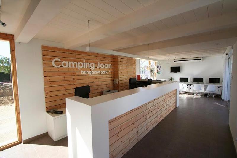 Nueva recepción Camping Joan Cambrils