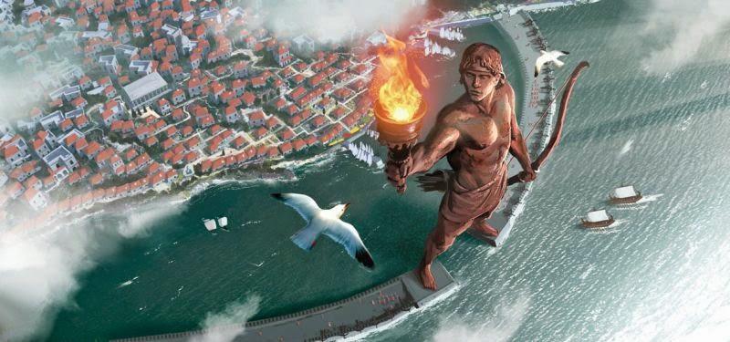 Colosul din insula grecească Rhodos, reconstruit? #1