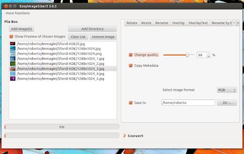 EasyImageSizer 3.0.5 su Ubuntu 12.04