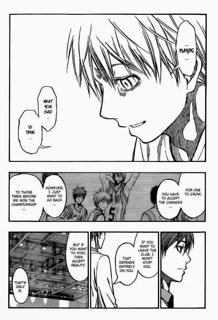 Kuroko no Basket Manga Chapter 223 - Image 04