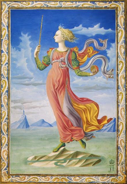 Francesco Pesellino - Allegory of Rome