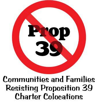 Communities & Families Resisting Proposition 39 Charter Colocations