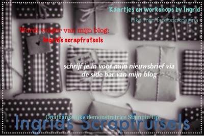 Blog Candy bij Ingrid's Scrapfrutsels