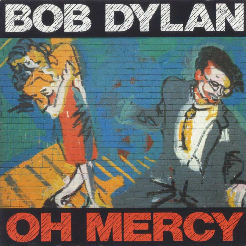 Bob Dylan - Oh Mercy album cover