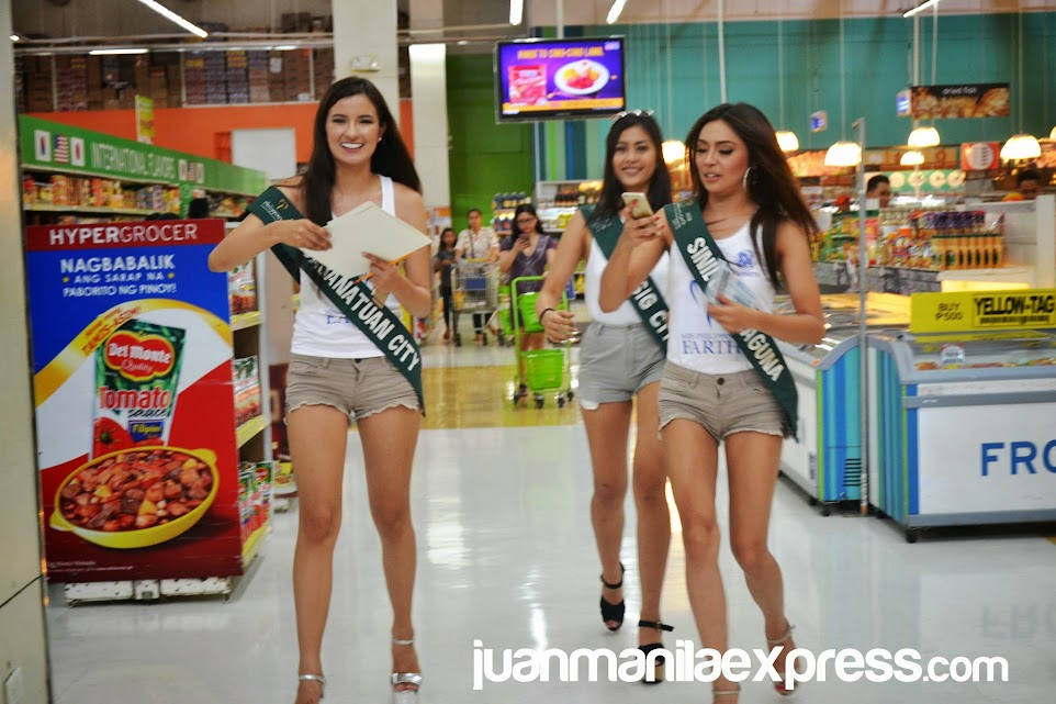 MISS PHILIPPINES EARTH 2015 CANDIDATES GROCERY AND COOKING CHALLENGE.
