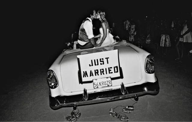 Ideas para decorar el coche de tu boda