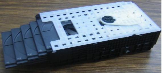 Mecanismo tipo escalera CR16