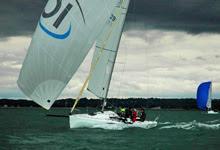 J80s sailing France
