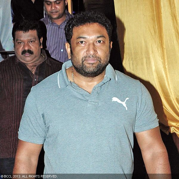Baburaj during Asif Ali and Zama Mazreen's wedding reception held in Kerala.