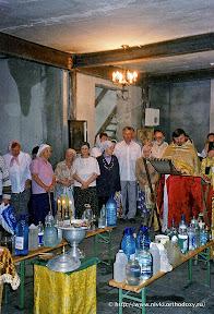 Богослужения во время ремонта
