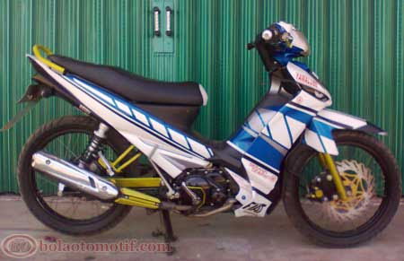 modifikasi yamaha vega zr