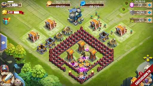 Castle Clash Account have Pumpkin Cupid immortep champion Over 248,000HB