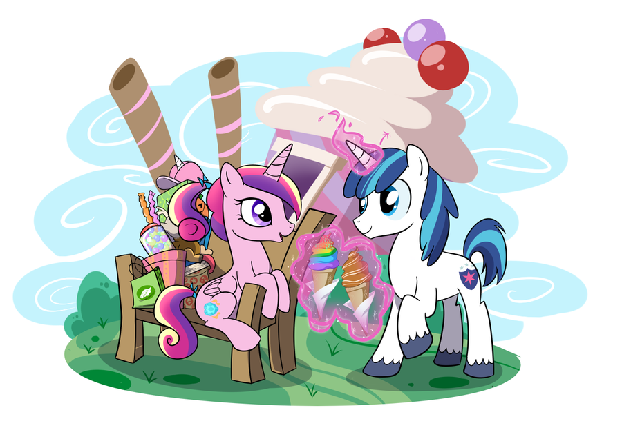 Way Back In April Of 2012 Shining Armor And Princess Cadance Became A Thing One Particular Cause Quite Bit Drama What With The Whole Breaking