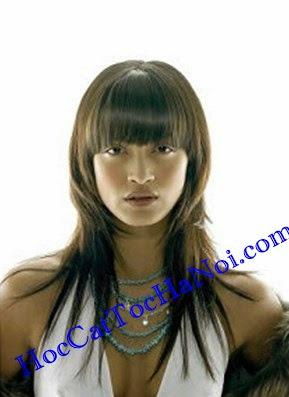 Đào tạo dạy nghề cắt tóc nữ, Kiểu tóc so le tầng cao