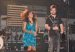 David Cook and Azalea Queen Amprapali Ambegaokar