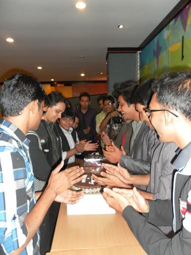 birthday of khalid bhai at a&w
