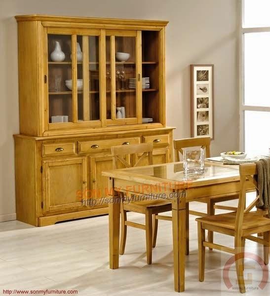 Tủ trưng bày gỗ 014