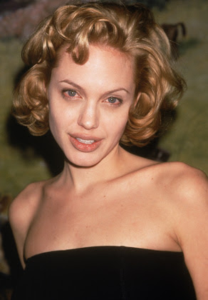 Angelina in curls