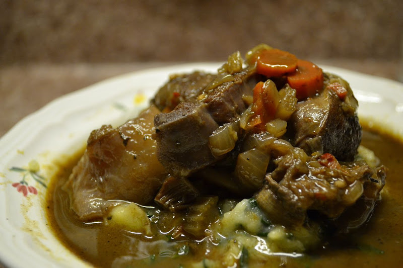 Red-Wine Braised Shanks