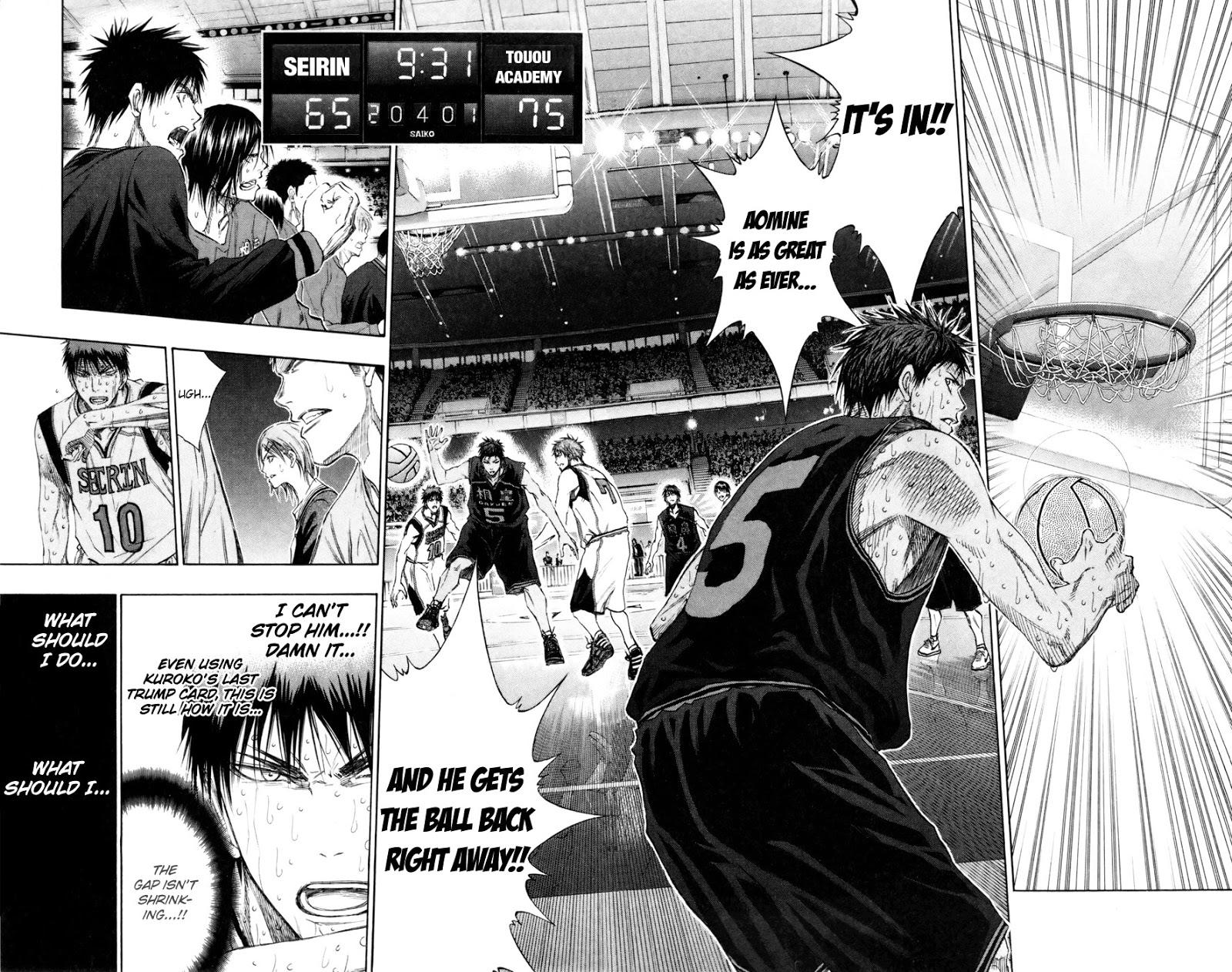 Kuroko no Basket Manga Chapter 131 - Image 02-02