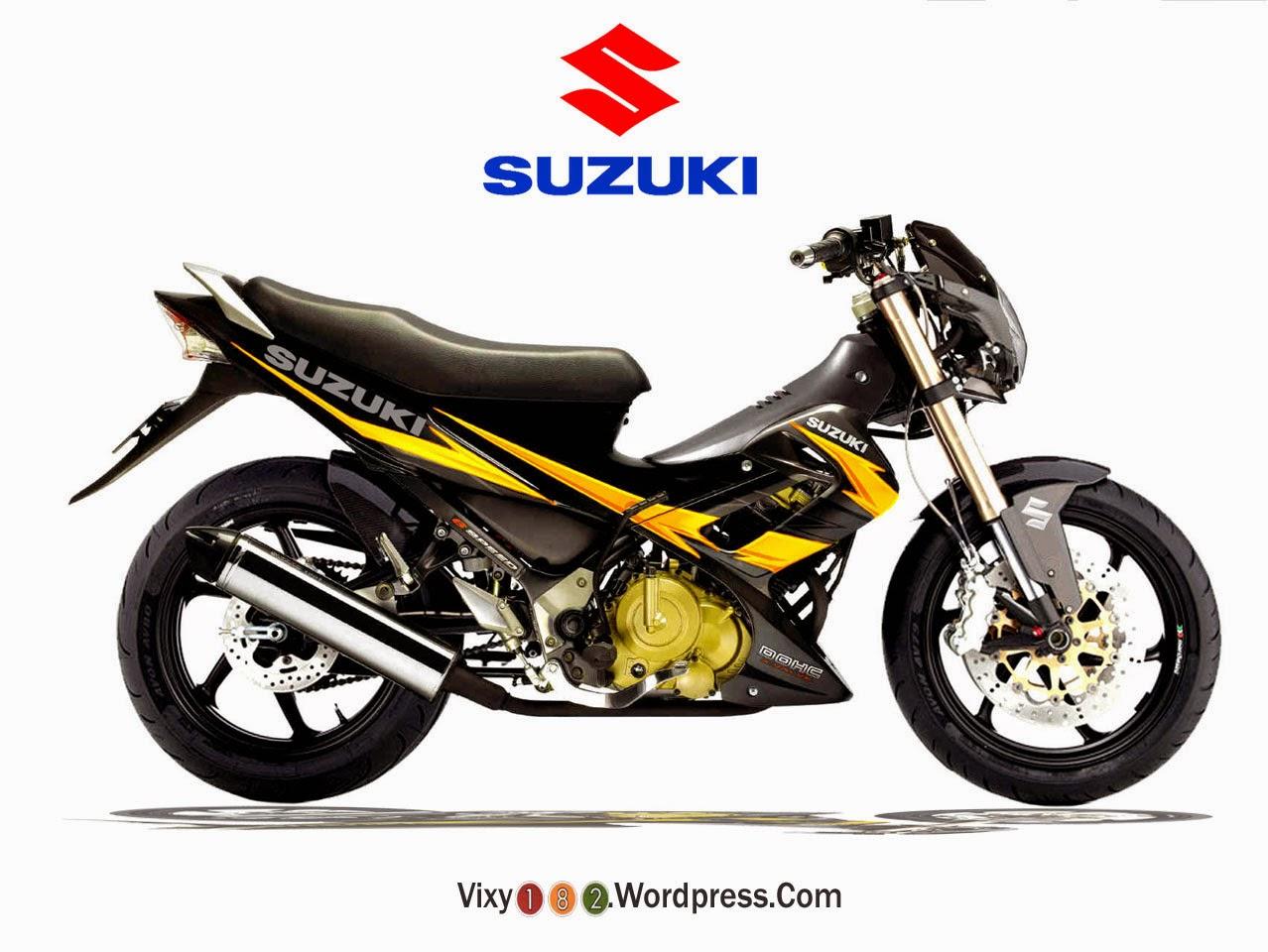 Suzuki Satria Fu 150 Modifikasi Trail - Thecitycyclist