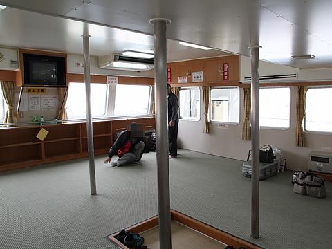 羽幌沿海フェリー フェリー「おろろん2」 船内 その2