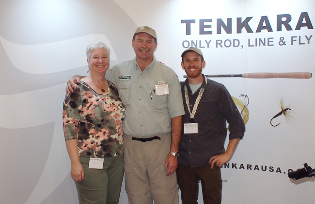Tenkara USA booth at Pasadena Fly Fishing Show