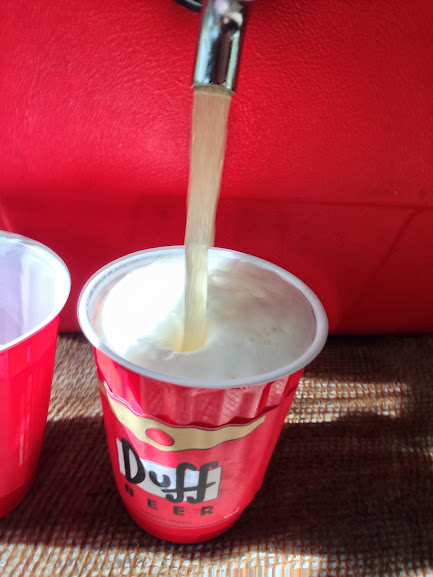Simpsons Duff Beer solo cup wraps