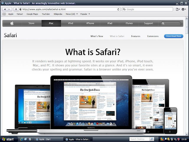 What is Safari?