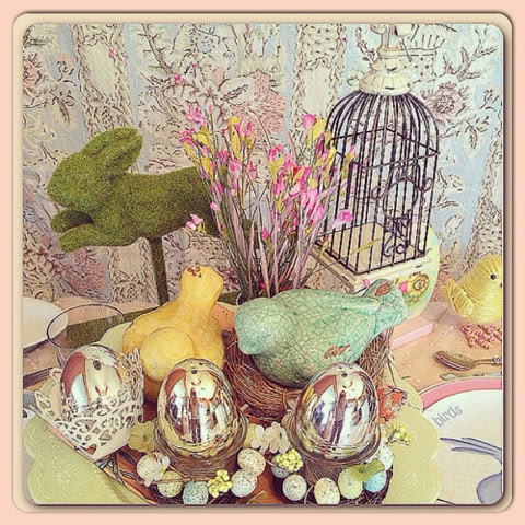 Happy Almost Easter As Many Of You Now Already I Have A Small Passion For Decorating Kiddie Table Any Given Holiday
