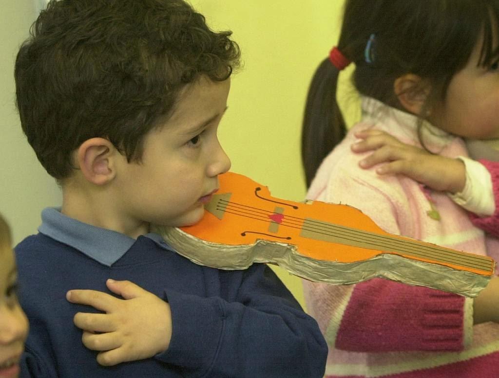 Pablo, con apenas 4 años (Marzo de 2004). Foto de Damián Torres.