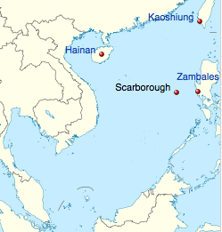 The Scarborough Shoal Dispute: Legal Issues And Implications ... on south korea map, bataan map, pratas island map, south china sea, north korea map, swains island map, machias seal island map, nine-dotted line, pratas islands, spratly islands, north borneo map, bangladesh map, china map, south china sea islands, spratly islands dispute, cebu map, philippines map, masbate map, subic bay map, yongxing island map, paracel islands, macclesfield bank, senkaku islands dispute, senkaku islands, hans island map, mayotte map, itu aba island map, chagos archipelago map, mindoro map, matsu islands map,