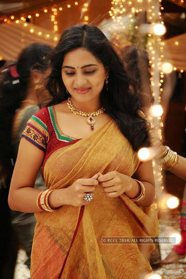 Srushti Dange in a still from the movie Megha.