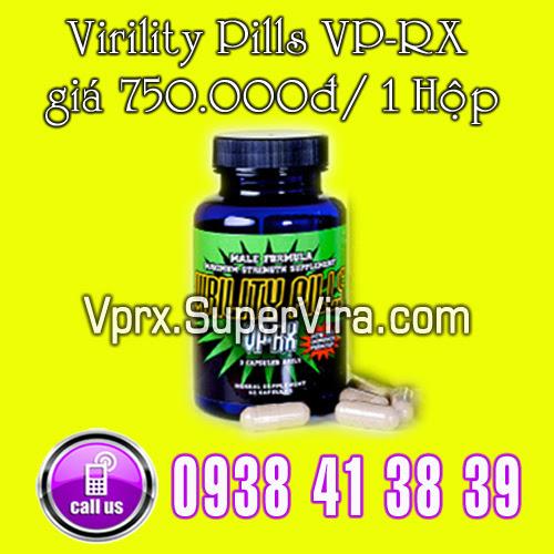 virility pill vp-rx 1 hộp giá chỉ có 750.000đ