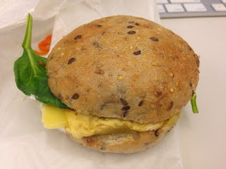 Eastman egg sandwich