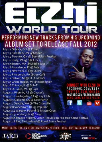 Elzhi Announces Worldwide Tour and New Album
