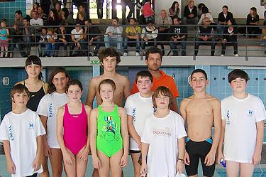 Lamego conquista primeiro pódio na natação