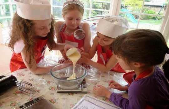 Fiesta infantil tematica cocina 2