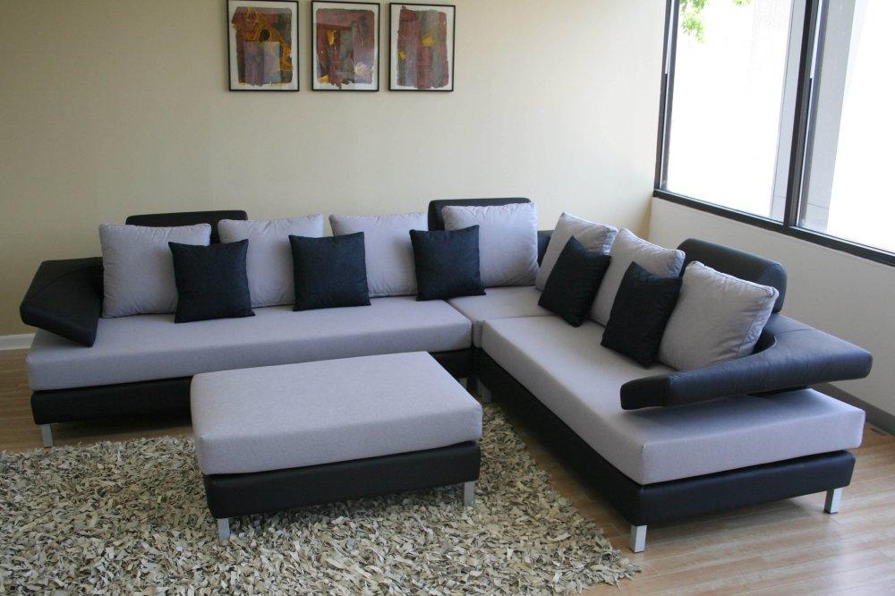 Free New Black & White Sectional Sofa Set 2019