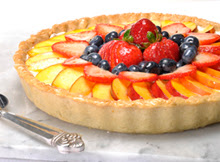 Light Fresh Fruit Tart