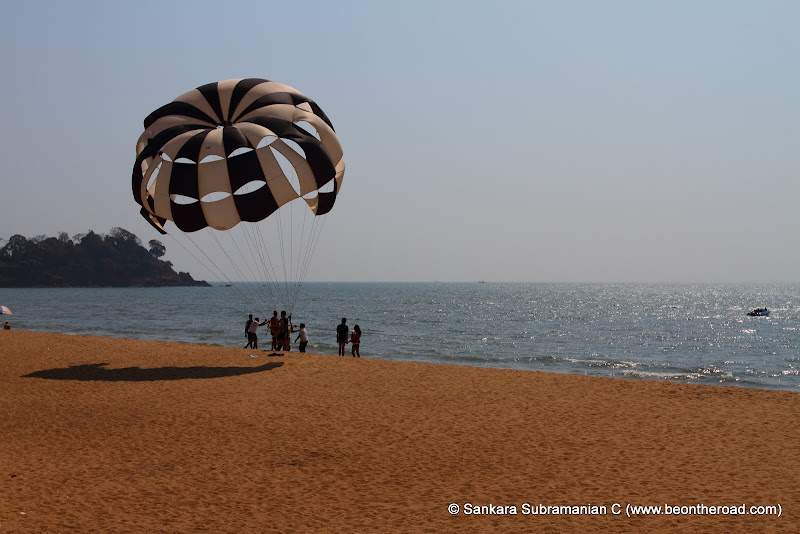 Parasailing at Rajabaga Beach - 2