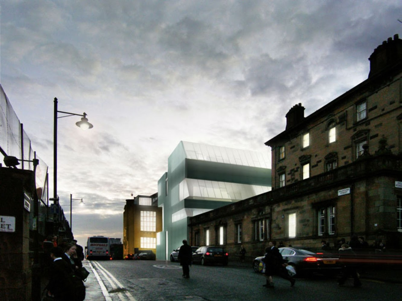 Glasgow, Città di Glasgow, Regno Unito: Steven Holl Architects' Glasgow School of Art Tops Out